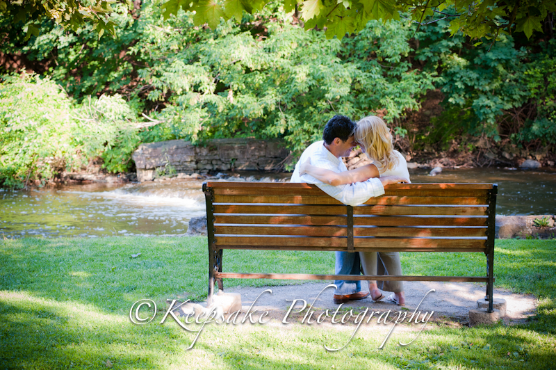 Teresa And Joe Webster S Falls Engagement Sherry Smith Photography