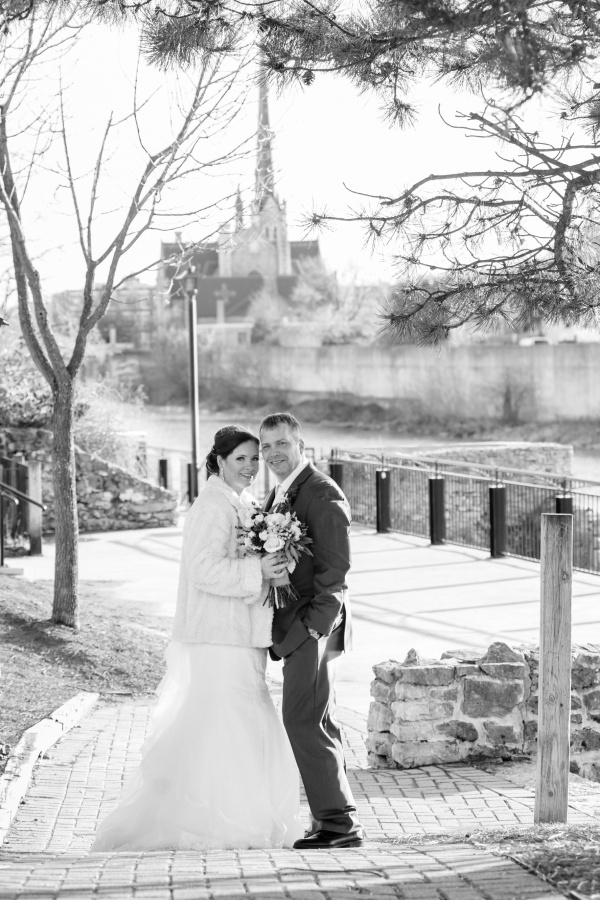 Cambridge Mill Winter Wedding Photography